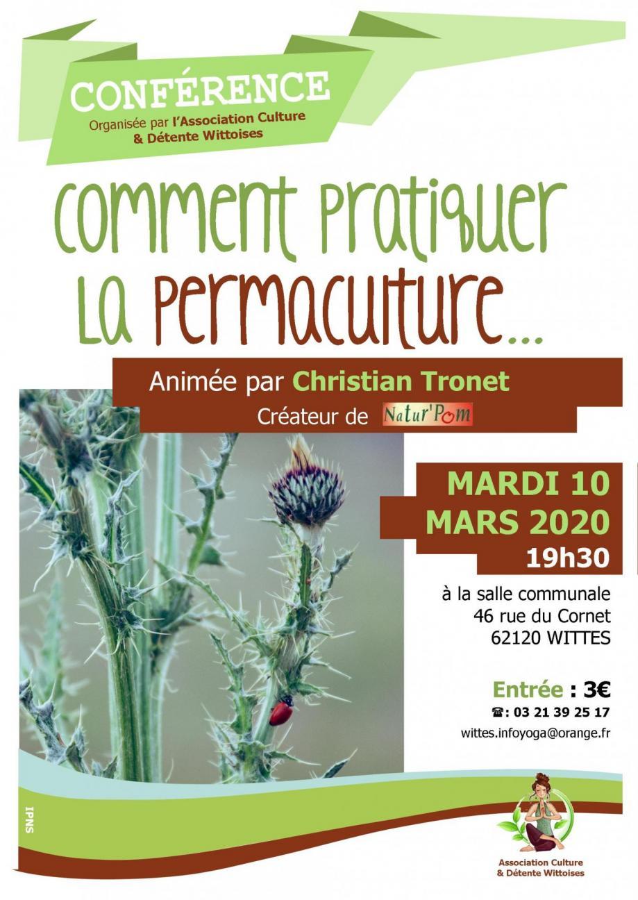 Affiche la permaculture 2020