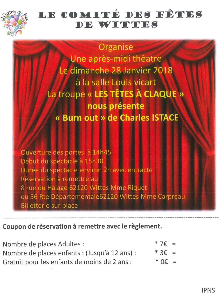 Apres midi theatre