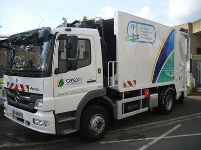 Camion de collecte