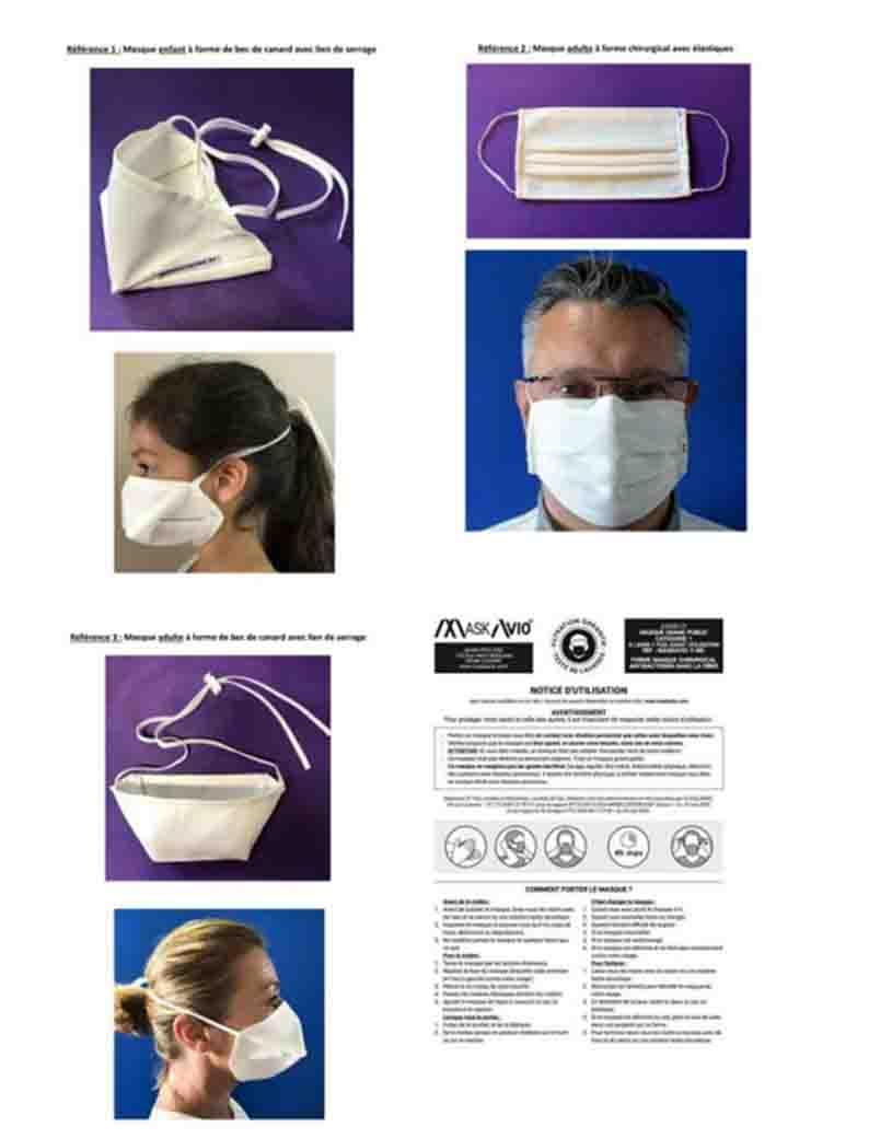 Commande masques 2