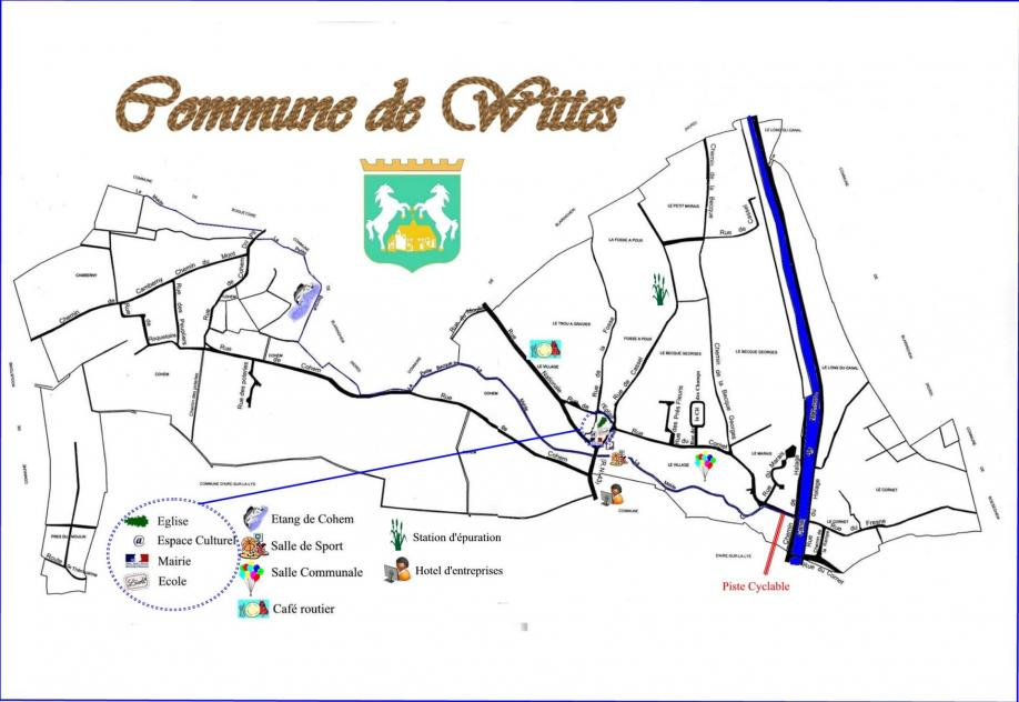 Commune wittes plan