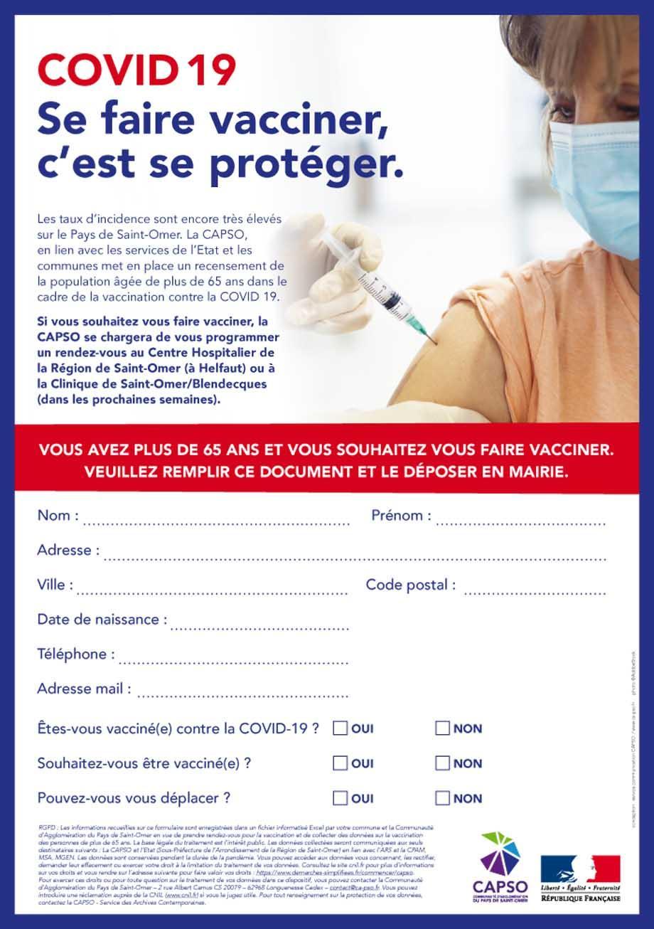 Flyer vaccination covid19