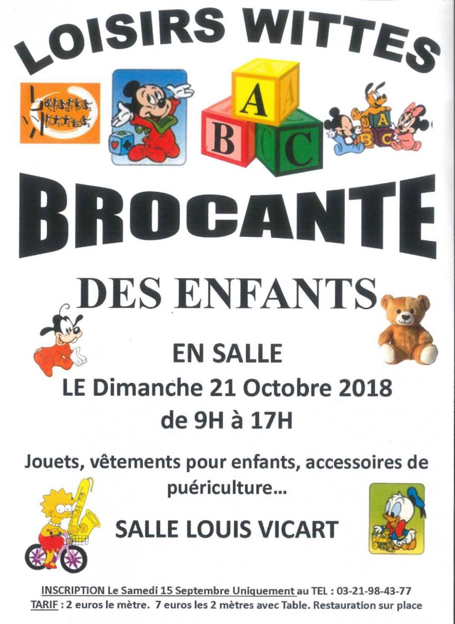 Loisirs wittes brocante