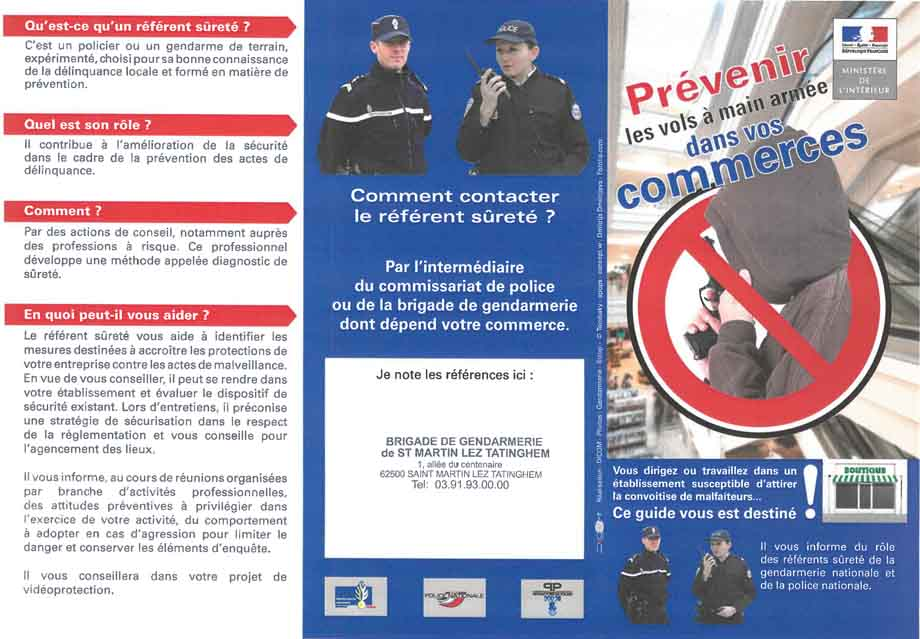 Prevention commerces 1