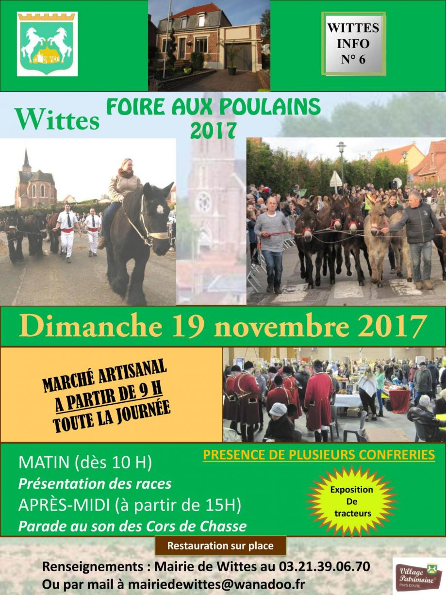 Wittes infos n 6 octobre 2017 1